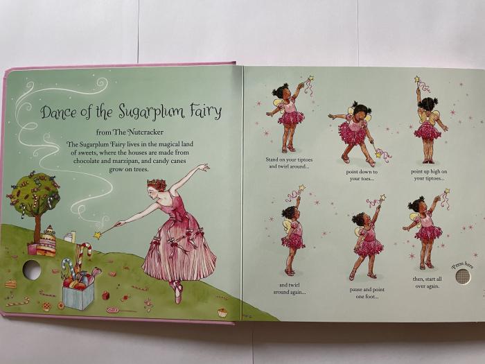 Little ballerina dancing book [1]