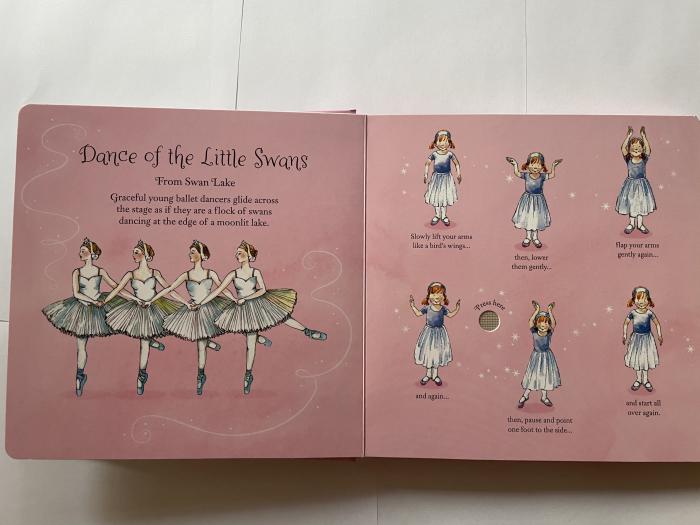 Little ballerina dancing book [2]