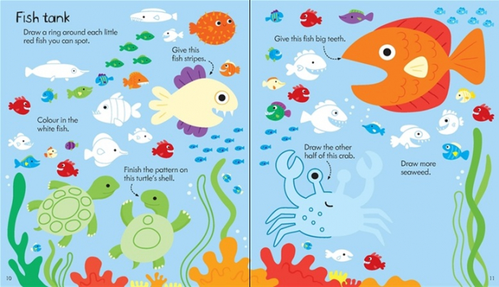 Little children's activity book [2]
