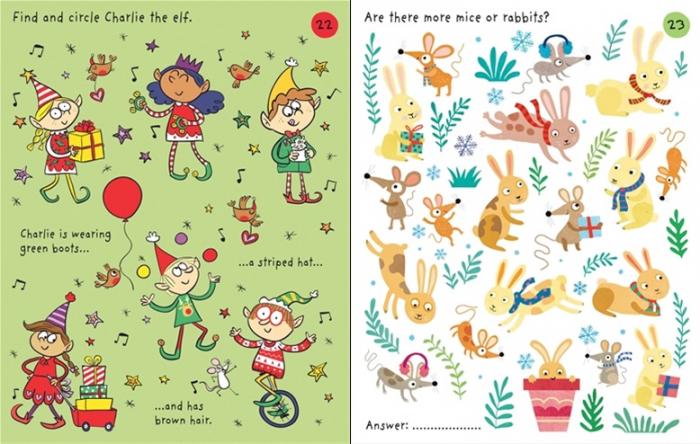 Little children's Christmas pad [3]