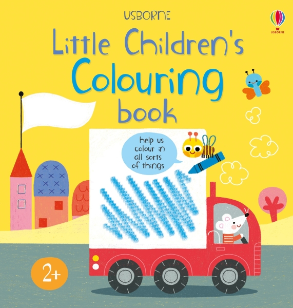 Little children's colouring book [0]