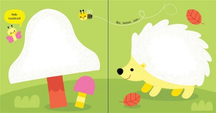 Little children's colouring book [2]