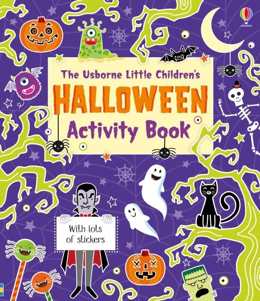 Little children's Halloween activity book [0]