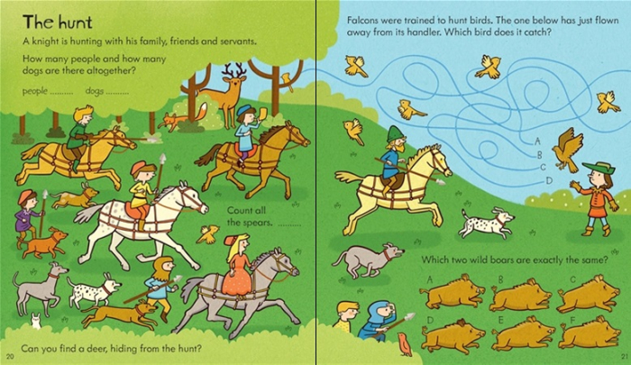 Little children's knights and castles activity book [2]