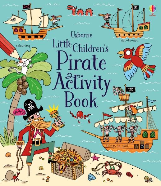 Little children's pirate activity book [0]