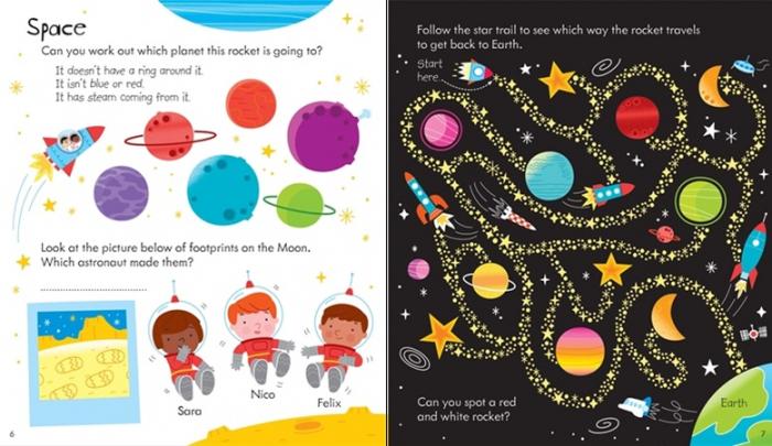 Little children's rainy day activity book [3]