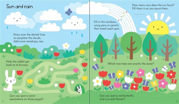 Little children's rainy day activity book [1]