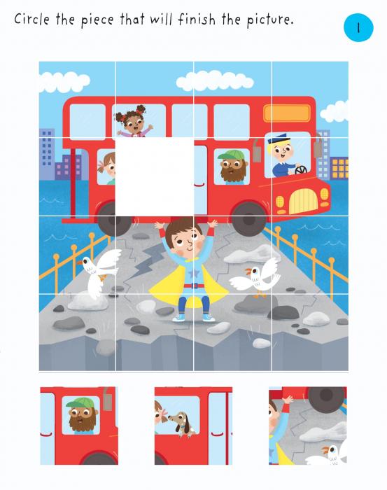 Little Children's Superheroes Puzzles [7]