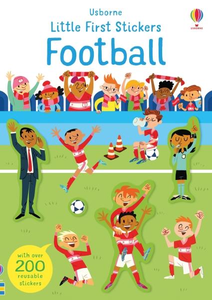 Little First Stickers Football [0]