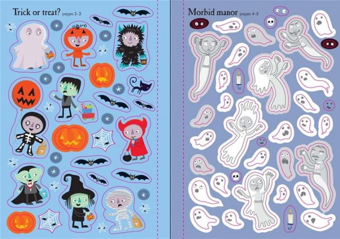 Little first stickers Halloween [1]