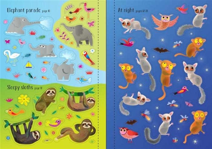 Little first stickers jungle [3]