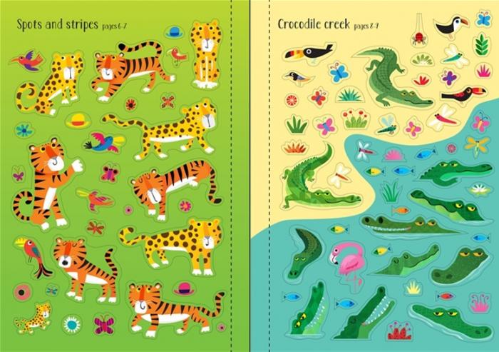 Little first stickers jungle [2]