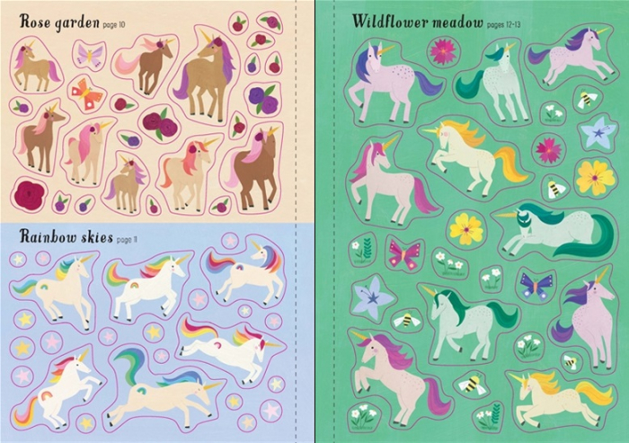 Little first stickers unicorns [3]