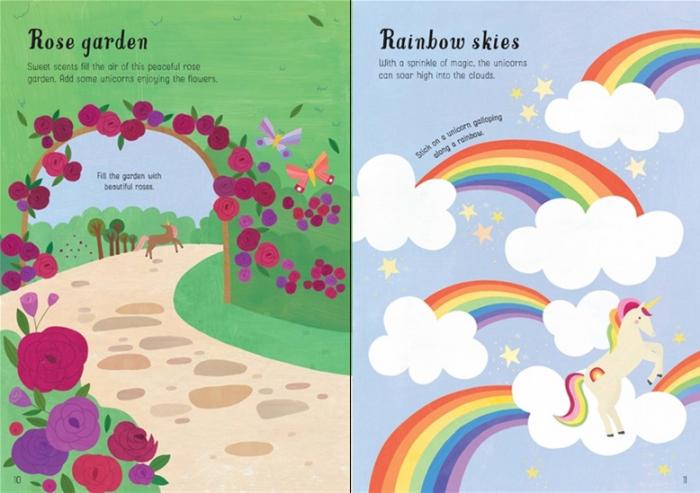 Little first stickers unicorns [2]