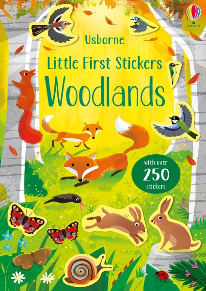 Little First Stickers Woodlands [0]