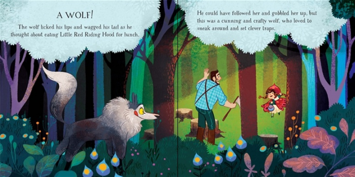 Little Red Riding Hood picture book and jigsaw [2]