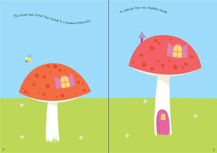Little sparkly fairies sticker book [1]