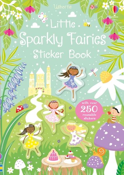 Little sparkly fairies sticker book [0]