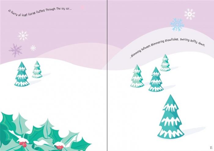 Little sparkly fairies sticker book [2]
