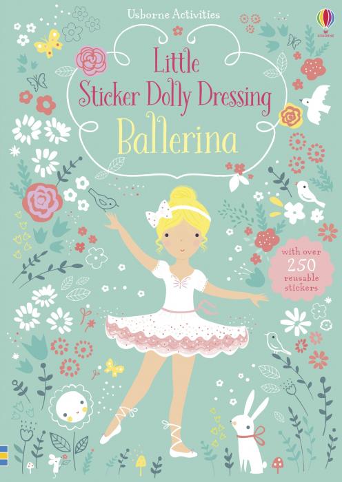 Little sticker dolly dressing Ballerina [0]