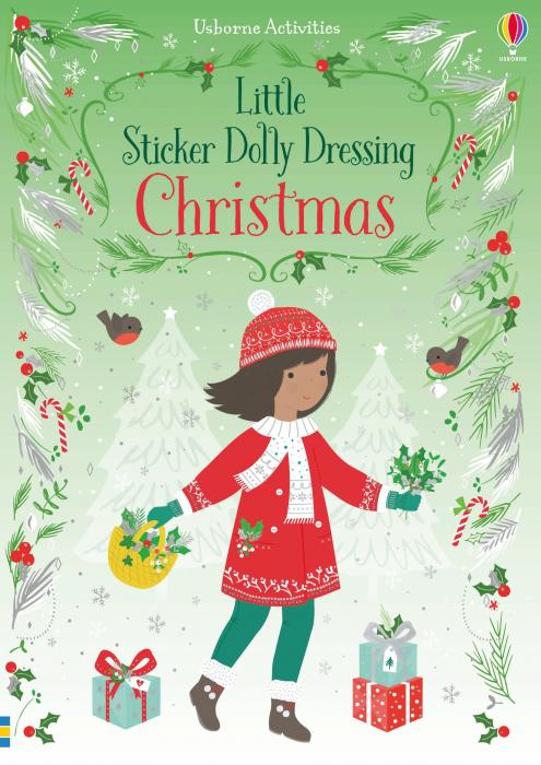 Little sticker dolly dressing Christmas [0]