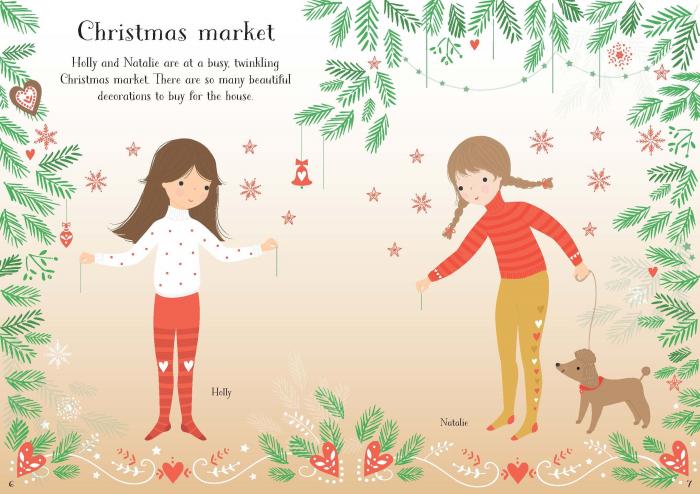 Little sticker dolly dressing Christmas [2]