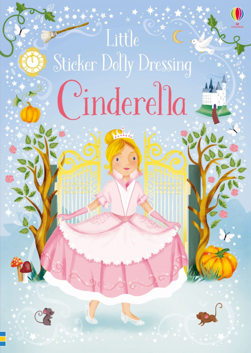 Little sticker dolly dressing Cinderella [0]
