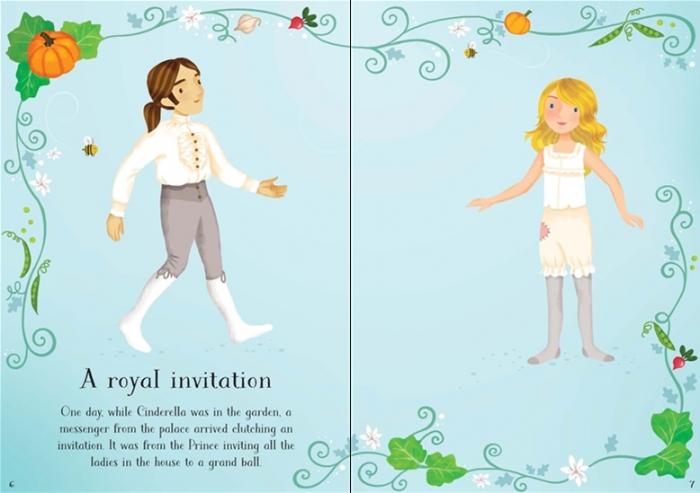 Little sticker dolly dressing Cinderella [1]