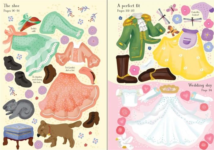 Little sticker dolly dressing Cinderella [2]