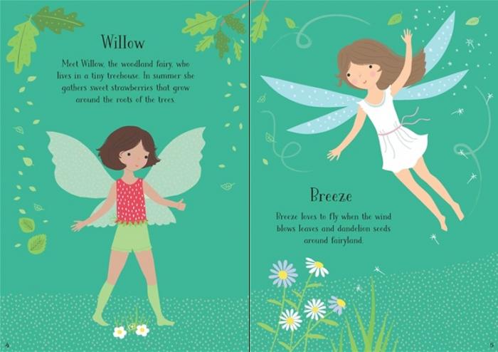 Little sticker dolly dressing Fairies [1]