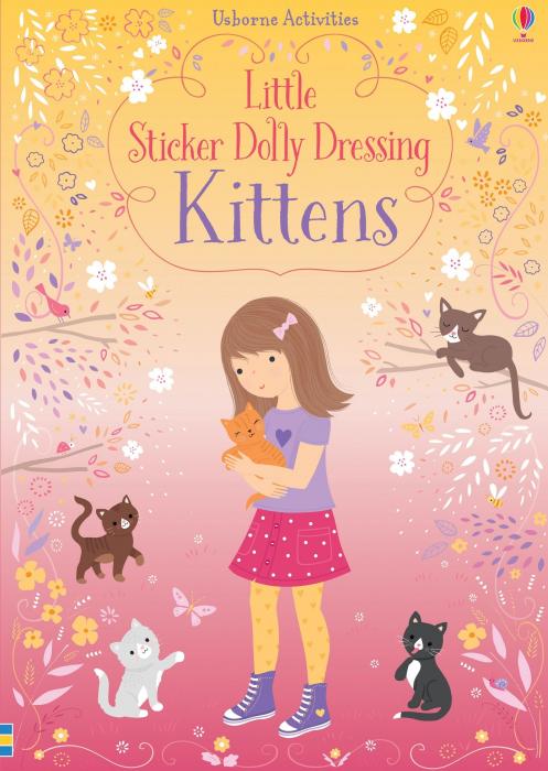 Little sticker dolly dressing Kittens [0]