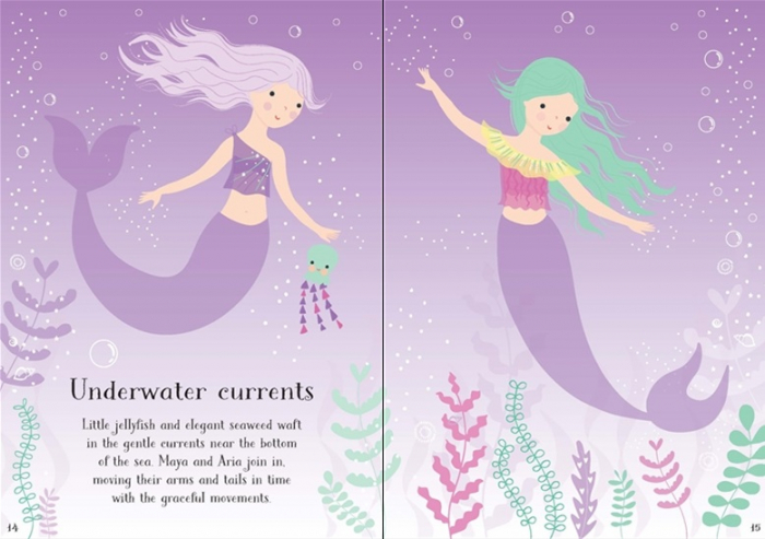 Little sticker dolly dressing Mermaid [2]
