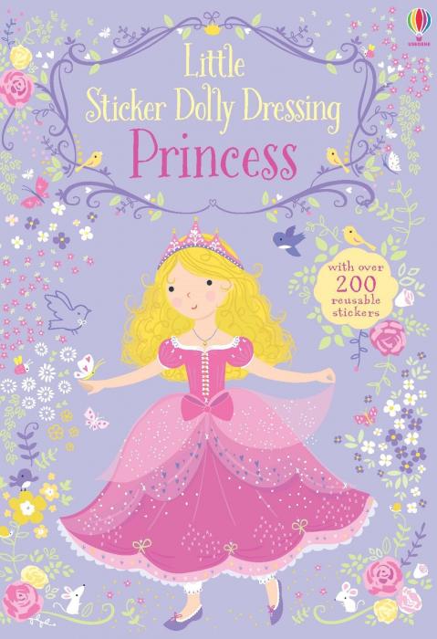 Little sticker dolly dressing Princess [0]