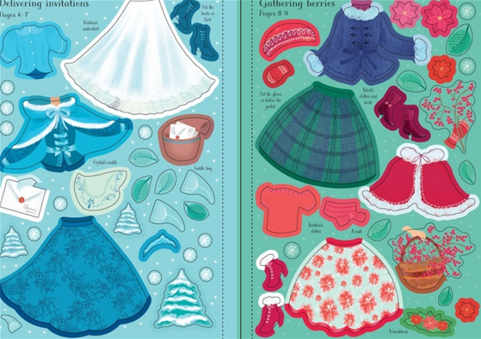 Little sticker dolly dressing Snow Princess [3]