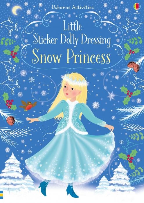 Little sticker dolly dressing Snow Princess [0]