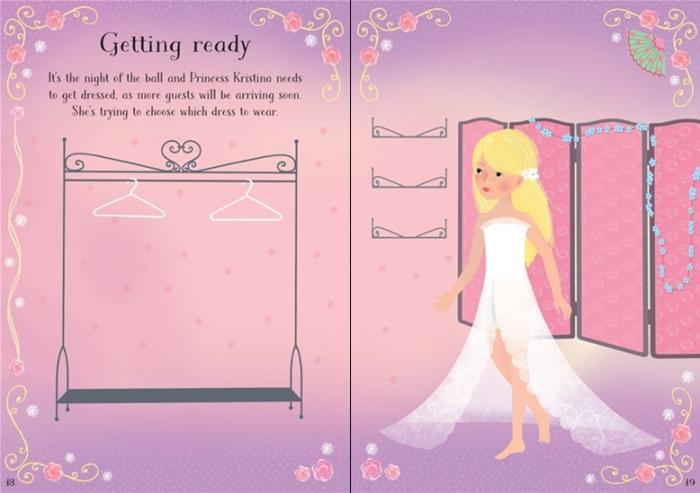 Little sticker dolly dressing Snow Princess [1]