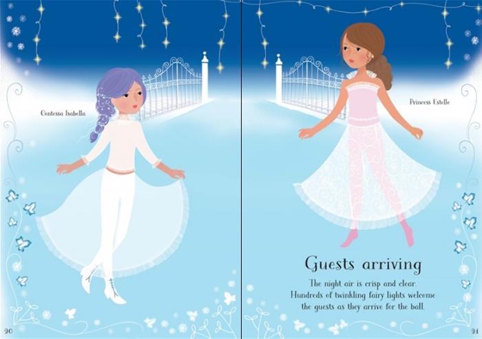 Little sticker dolly dressing Snow Princess [2]