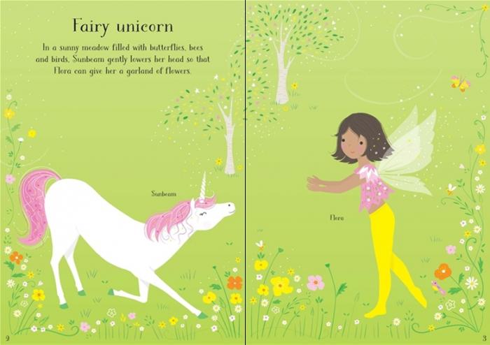 Little sticker dolly dressing Unicorns [1]