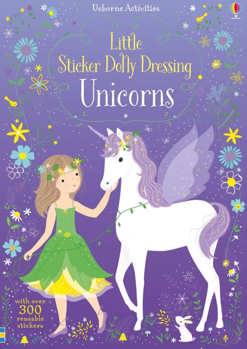 Little sticker dolly dressing Unicorns [0]