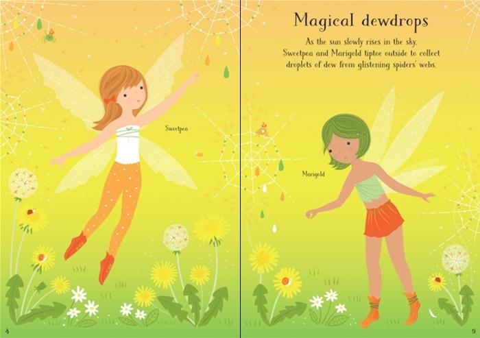 Little sticker dolly dressing Woodland fairy [2]