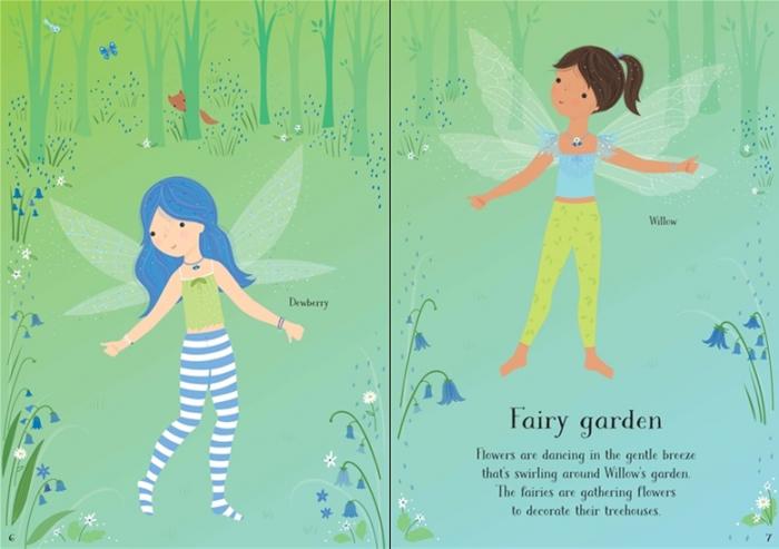 Little sticker dolly dressing Woodland fairy [3]