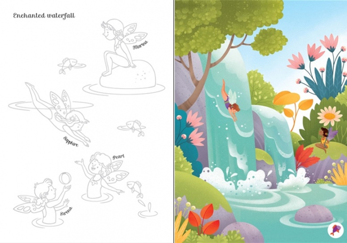 Little transfer book fairies [2]