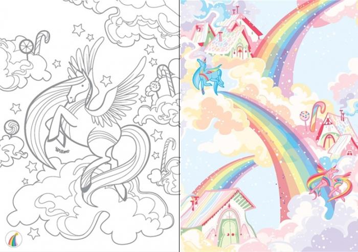 Little transfer books unicorns [1]