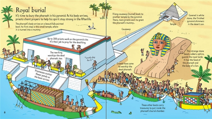 Look inside mummies and pyramids [2]