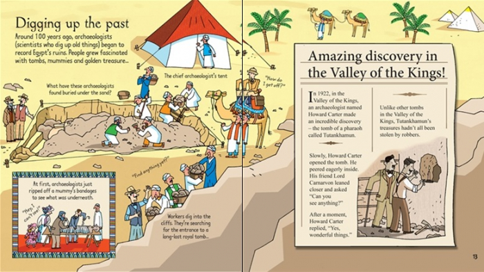 Look inside mummies and pyramids [3]