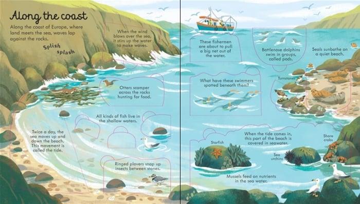 Look inside seas and oceans [1]