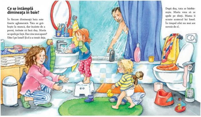 Mă spăl pe dinți, folosesc olița [1]