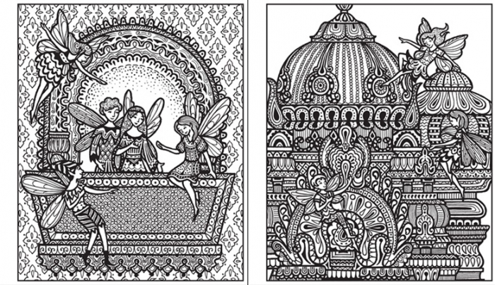 Magic painting Fairy palaces [1]