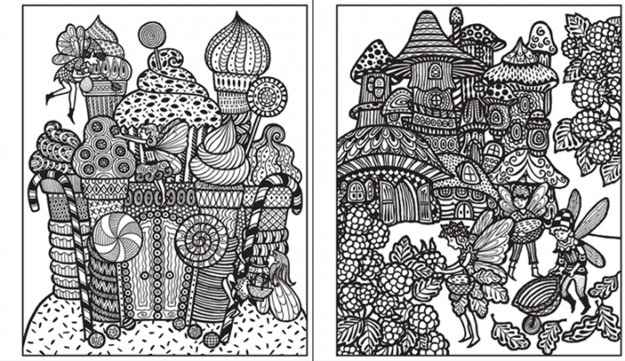 Magic painting Fairy palaces [3]