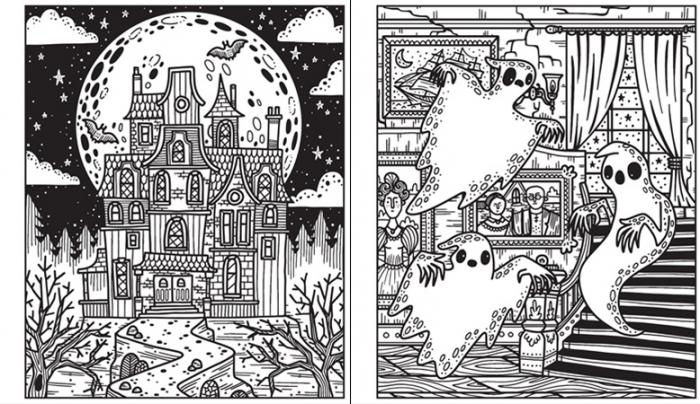 Magic painting Halloween [1]